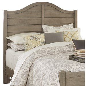 Vaughan Bassett American Maple Queen Shiplap Headboard