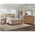 Vaughan Bassett American Maple Full Bedroom Group - Item Number: 402 F Bedroom Group 1