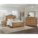 Vaughan Bassett American Maple Full Bedroom Group - Item Number: 402 F Bedroom Group 2