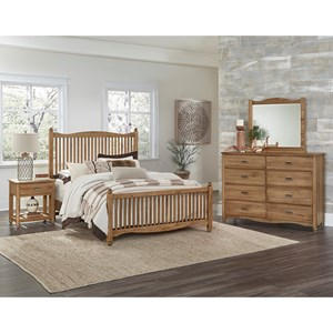Vaughan Bassett American Maple Queen Bedroom Group