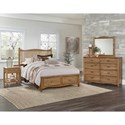 Vaughan Bassett American Maple Queen Bedroom Group - Item Number: 402 Q Bedroom Group 3