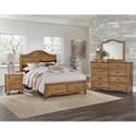 Vaughan Bassett American Maple Queen Bedroom Group - Item Number: 402 Q Bedroom Group 4