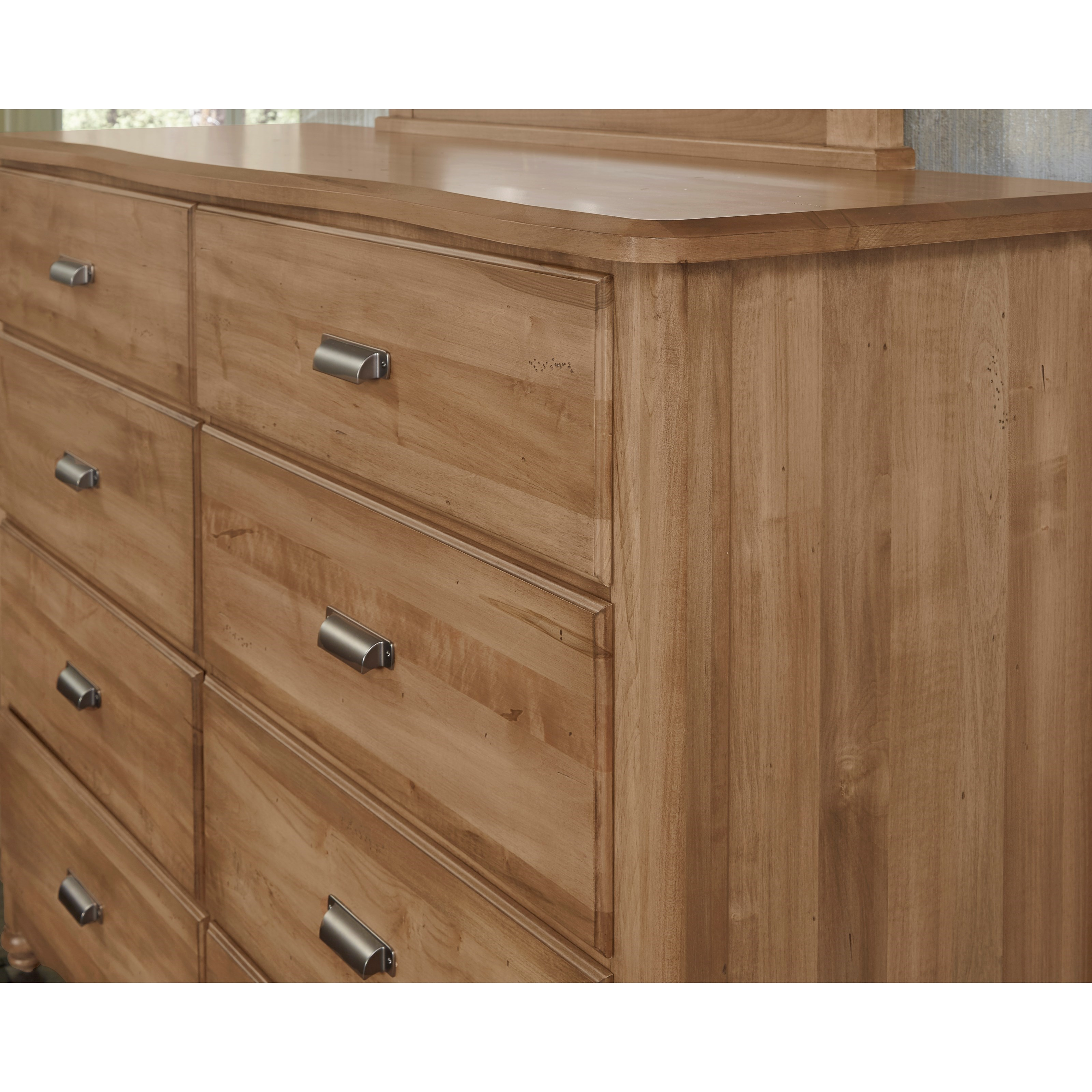 Bassett Furniture Milford Ct: Vaughan Bassett American Maple 402-004 Solid Wood Bureau