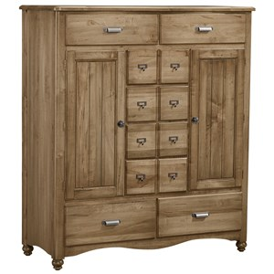 Sweater Chest - 8 Drawers, 2 Shelves