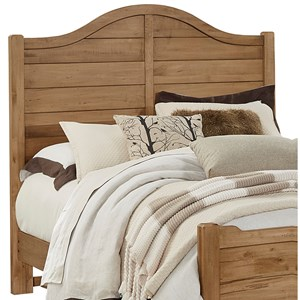 Vaughan Bassett American Maple Full Shiplap Headboard