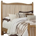 Vaughan Bassett American Maple Queen Slat Headboard - Item Number: 402-557