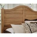 Vaughan Bassett American Maple Solid Wood Queen Shiplap Storage Bed