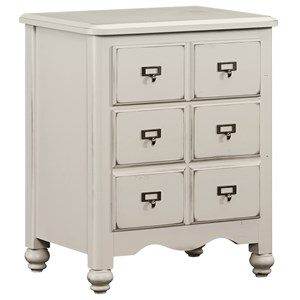 Vaughan Bassett American Maple Apothecary Night Stand - 2 Drawers