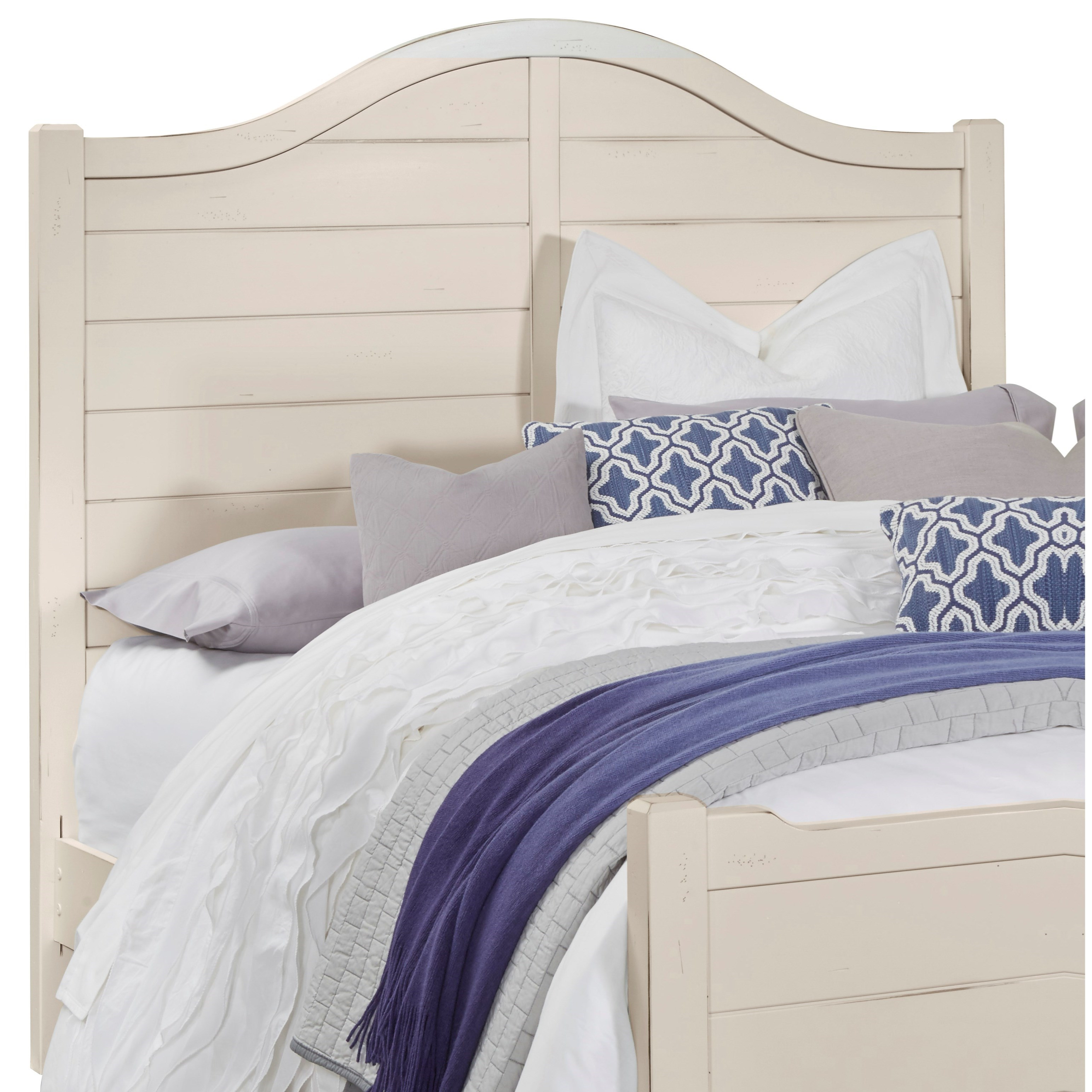 Vaughan Bassett American Maple Full Shiplap Headboard - Item Number: 404-449