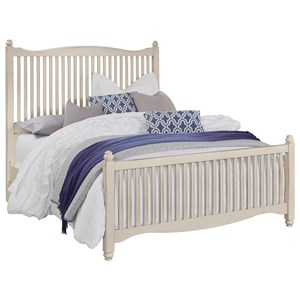 Vaughan Bassett American Maple Full Slat Bed
