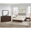 Vaughan Bassett American Modern Queen Bedroom Group - Item Number: 650 Q Bedroom Group 1