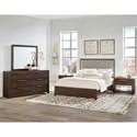 Vaughan Bassett American Modern King Upholstered Bed