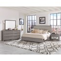 Vaughan Bassett American Modern King Bedroom Group - Item Number: 651 K Bedroom Group 1