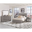 Vaughan Bassett American Modern Queen Bedroom Group - Item Number: 651 Q Bedroom Group 2