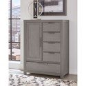 Vaughan Bassett American Modern Armoire - 1 door, 5 drawers