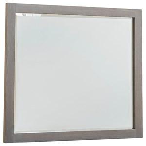 Vaughan Bassett American Modern Landscape Mirror - Beveled Glass
