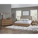 Vaughan Bassett American Modern Queen Upholstered Bed