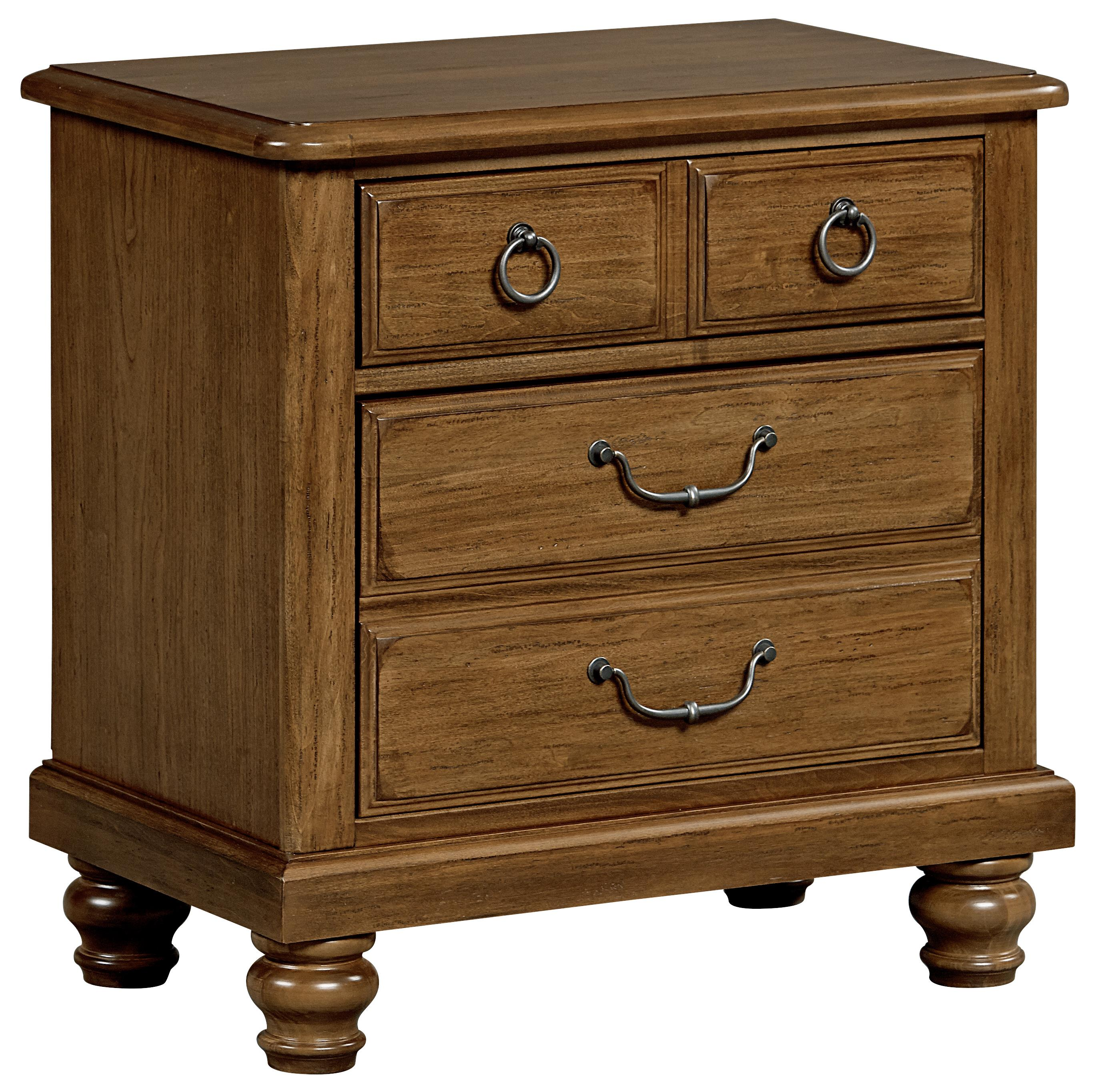 Vaughan Bassett Arrendelle Night Stand - 2 Drawers - Item Number: 440-226