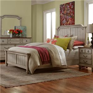 Vaughan Bassett Arrendelle King Mansion Bed