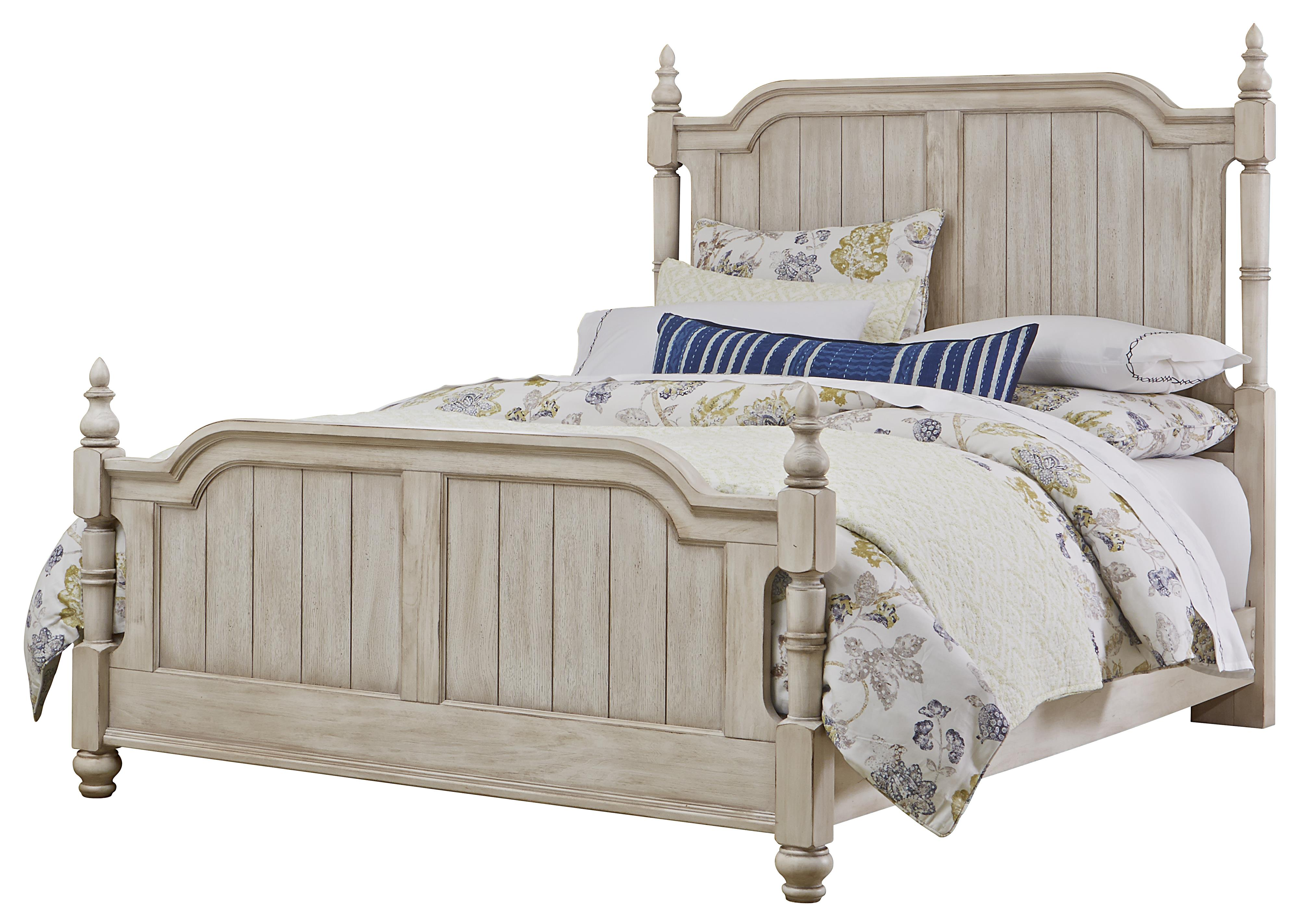 Vaughan Bassett Arrendelle Transitional Queen Poster Bed