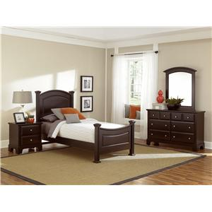 Vaughan Bassett Hamilton Twin Bedroom Group