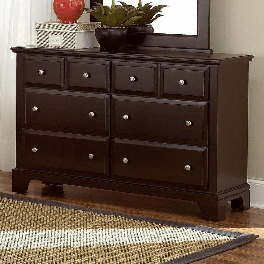 Vaughan Bassett Hamilton/Franklin Dresser - 6 Drawers - Item Number: BB4-001