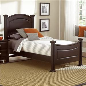 Vaughan Bassett Hamilton Twin Panel Bed