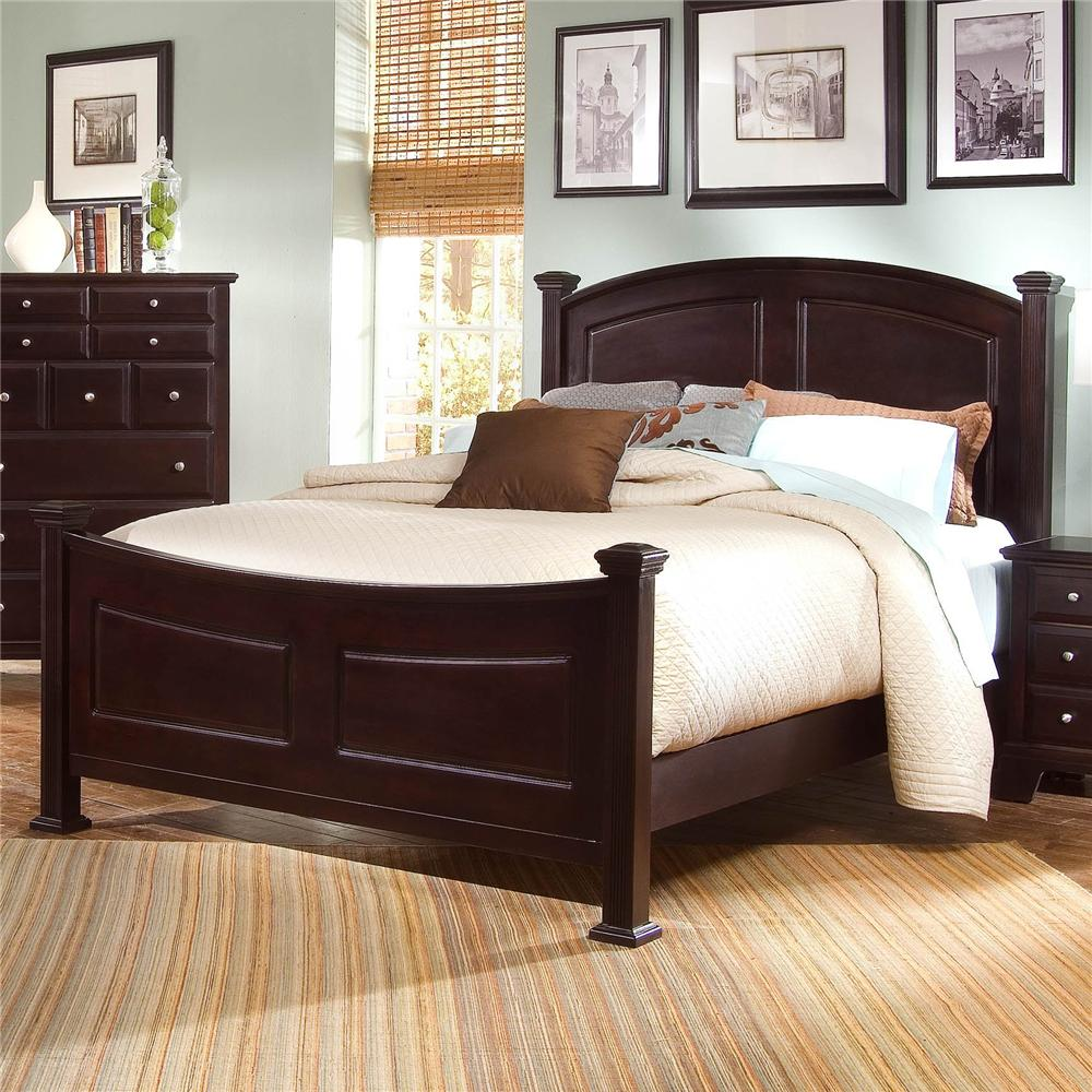Hamilton/Franklin Queen Panel Bed by Vaughan Bassett at Northeast Factory Direct