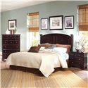 Vaughan Bassett Hamilton/Franklin Full/Queen Panel Headboard - Item Number: BB4-558
