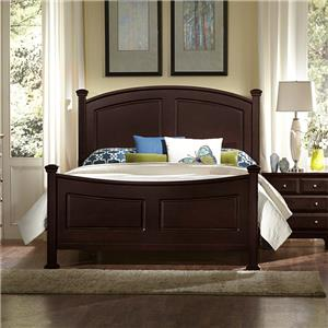 Vaughan Bassett Hamilton King Panel Bed