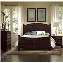 Vaughan Bassett Hamilton King Panel Bed