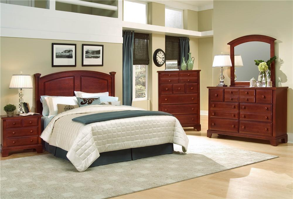 Hamilton/Franklin King Bedroom Group by Vaughan Bassett at Zak's Home