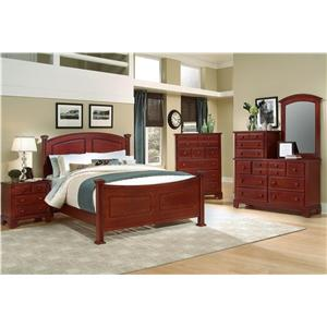 Vaughan Bassett Hamilton/Franklin Queen Bedroom Group