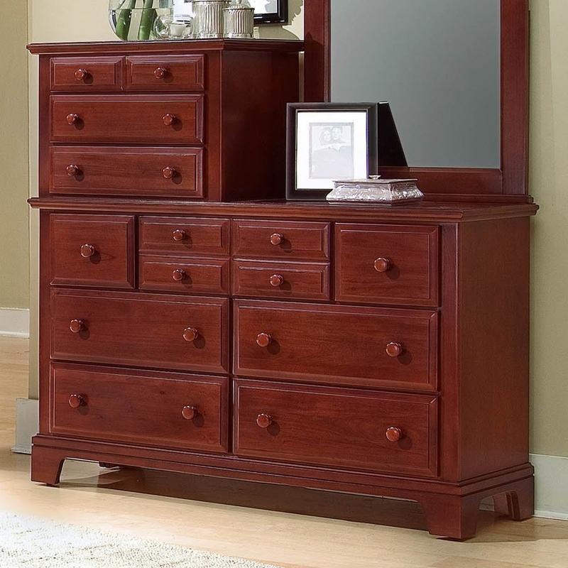 Vaughan Bassett Hamilton/Franklin Vanity Dresser - Item Number: BB5-003