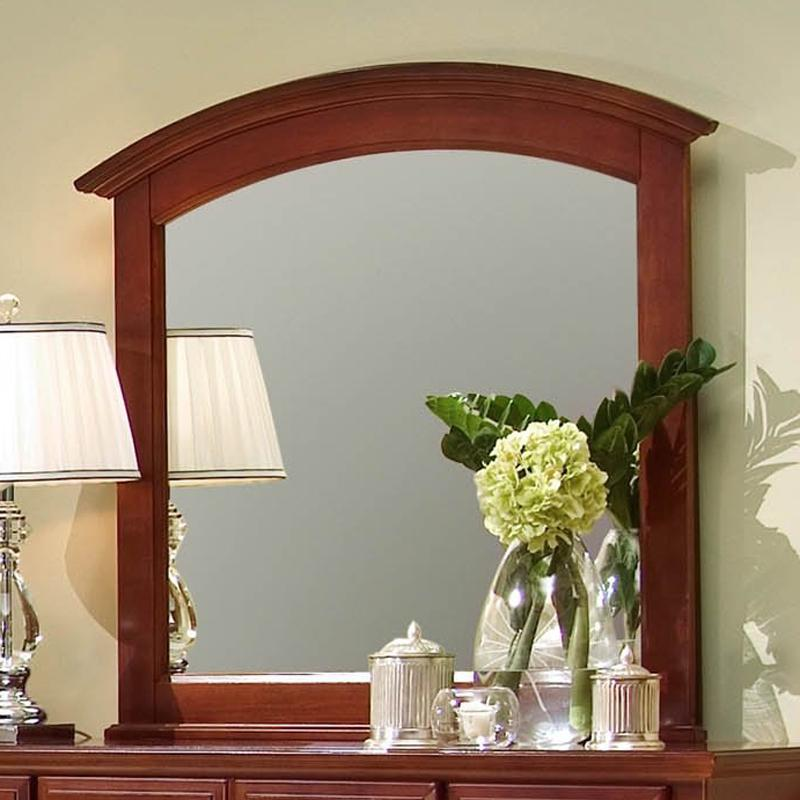 Hamilton/Franklin Landscape Mirror by Vaughan Bassett at EFO Furniture Outlet