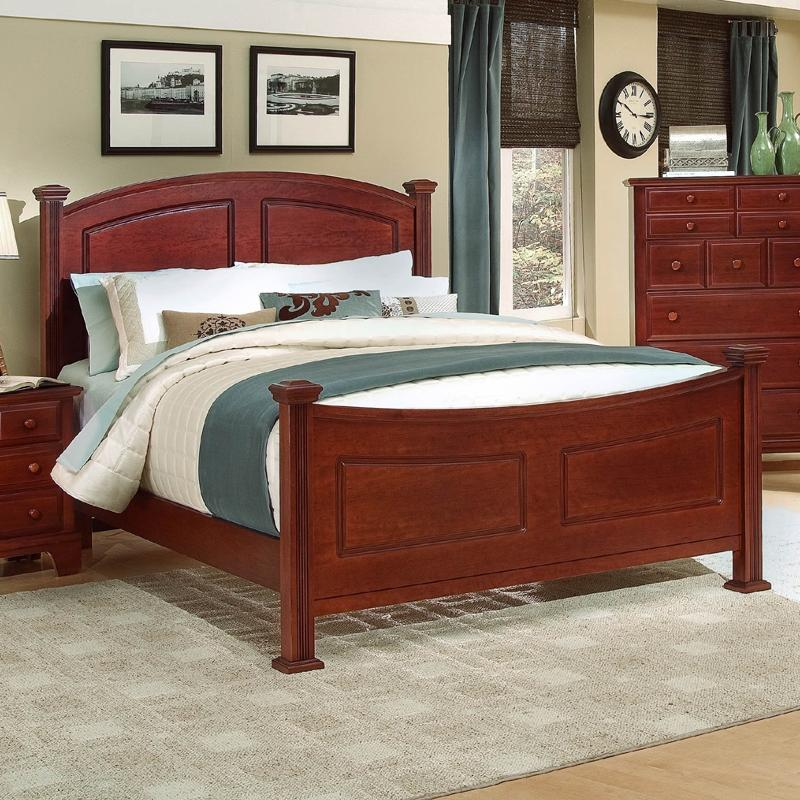 Vaughan Bassett Hamilton/Franklin King Panel Bed - Item Number: BB5-668+866+922+MS1