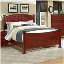 Vaughan Bassett Hamilton/Franklin Full Panel Bed - Item Number: BB5-556+655+911