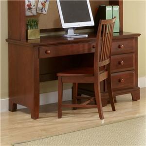 Vaughan Bassett Hamilton/Franklin Computer Desk
