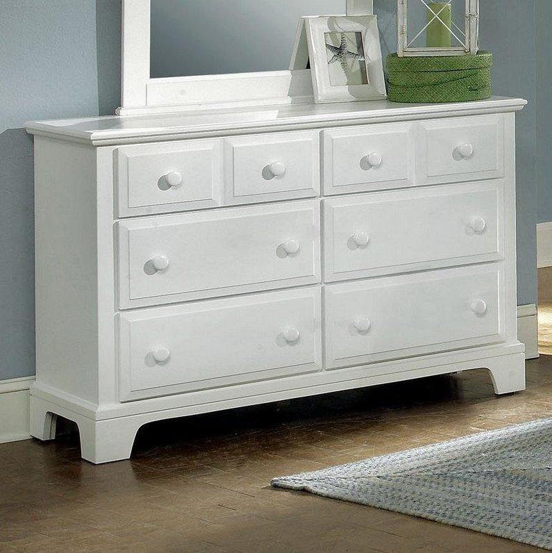 Vaughan Bassett Hamilton Franklin Dresser - 6 Drawers - Item Number: BB6-001