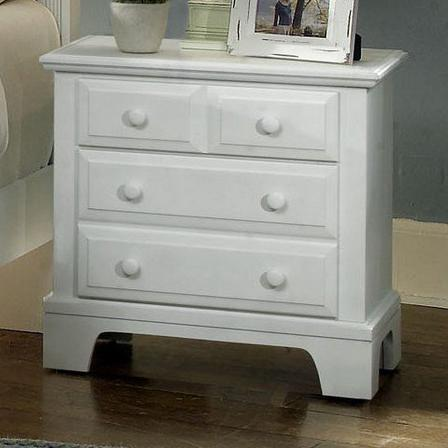 Vaughan Bassett Hamilton/Franklin Night Stand - 2 drawers - Item Number: BB6-226