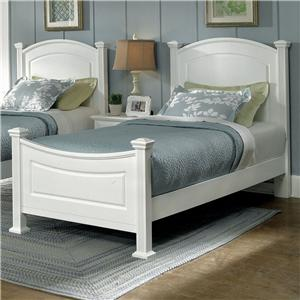 Vaughan Bassett Hamilton/Franklin Twin Panel Bed