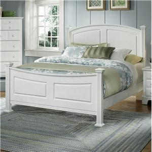 Vaughan Bassett Hamilton/Franklin Queen Panel Bed
