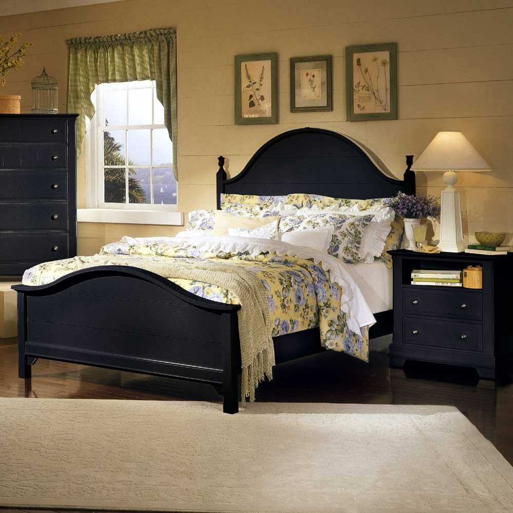 Vaughan Bassett Cottage Full Panel Bed - Item Number: BB16-552+255