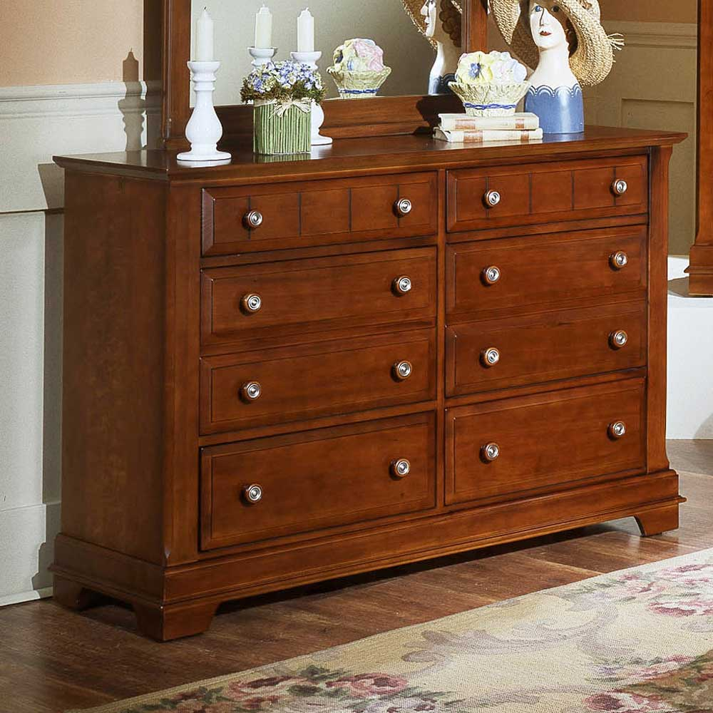 Vaughan Bassett Cottage Double Dresser - Item Number: BB19-001