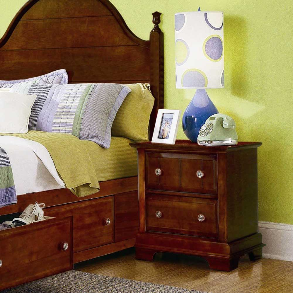 Vaughan Bassett Cottage 2 Drawer Nightstand - Item Number: BB19-226