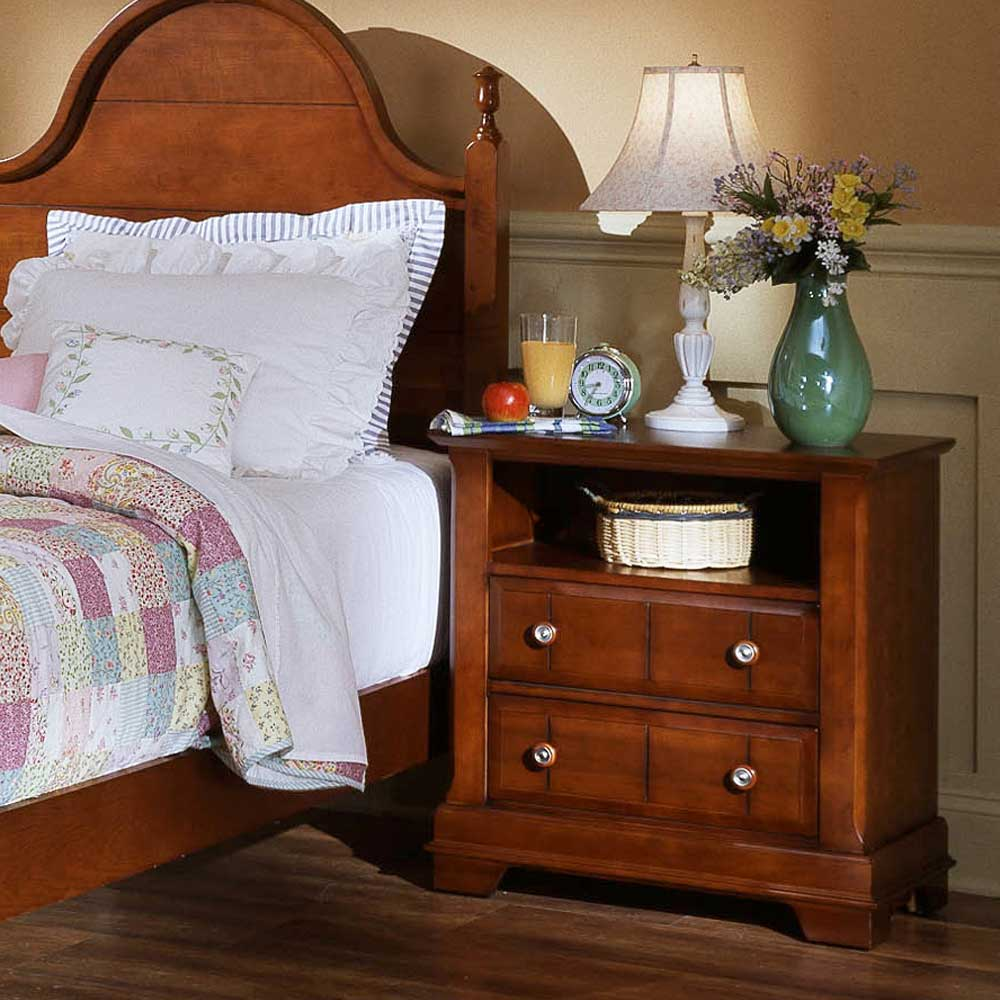 Vaughan Bassett Cottage Commode / Nightstand - Item Number: BB19-227