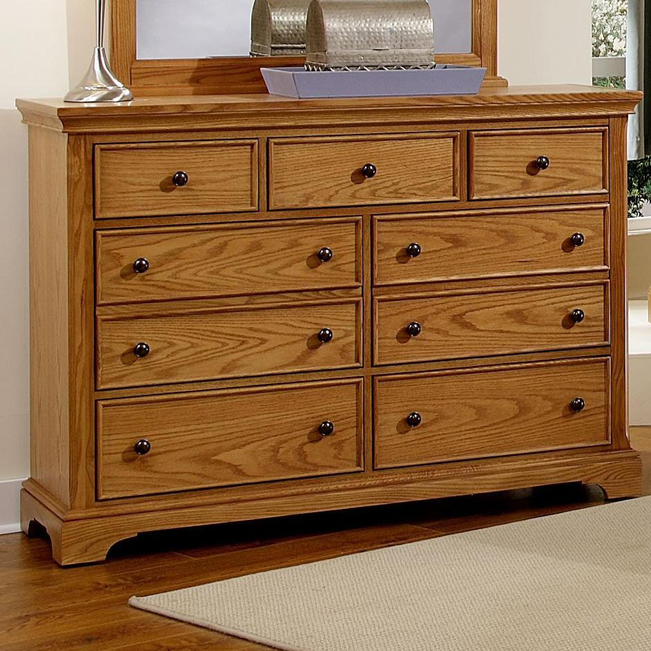 Vaughan Bassett Forsyth 7 Drawer Dresser - Item Number: BB75-002