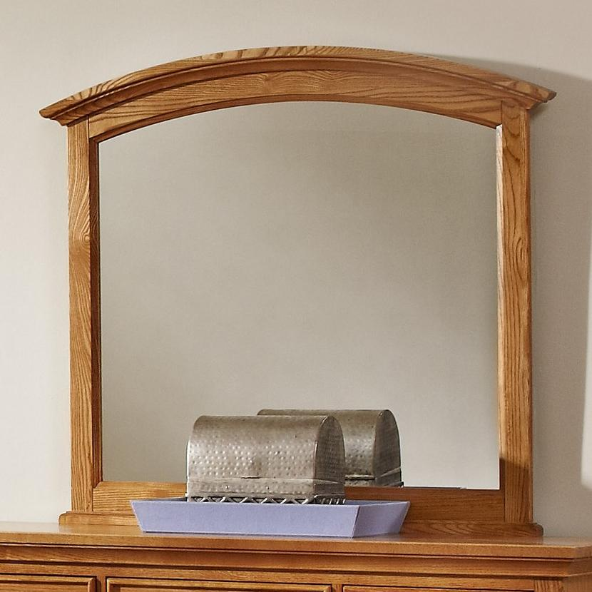Vaughan Bassett Forsyth Arched Mirror - Item Number: BB75-447