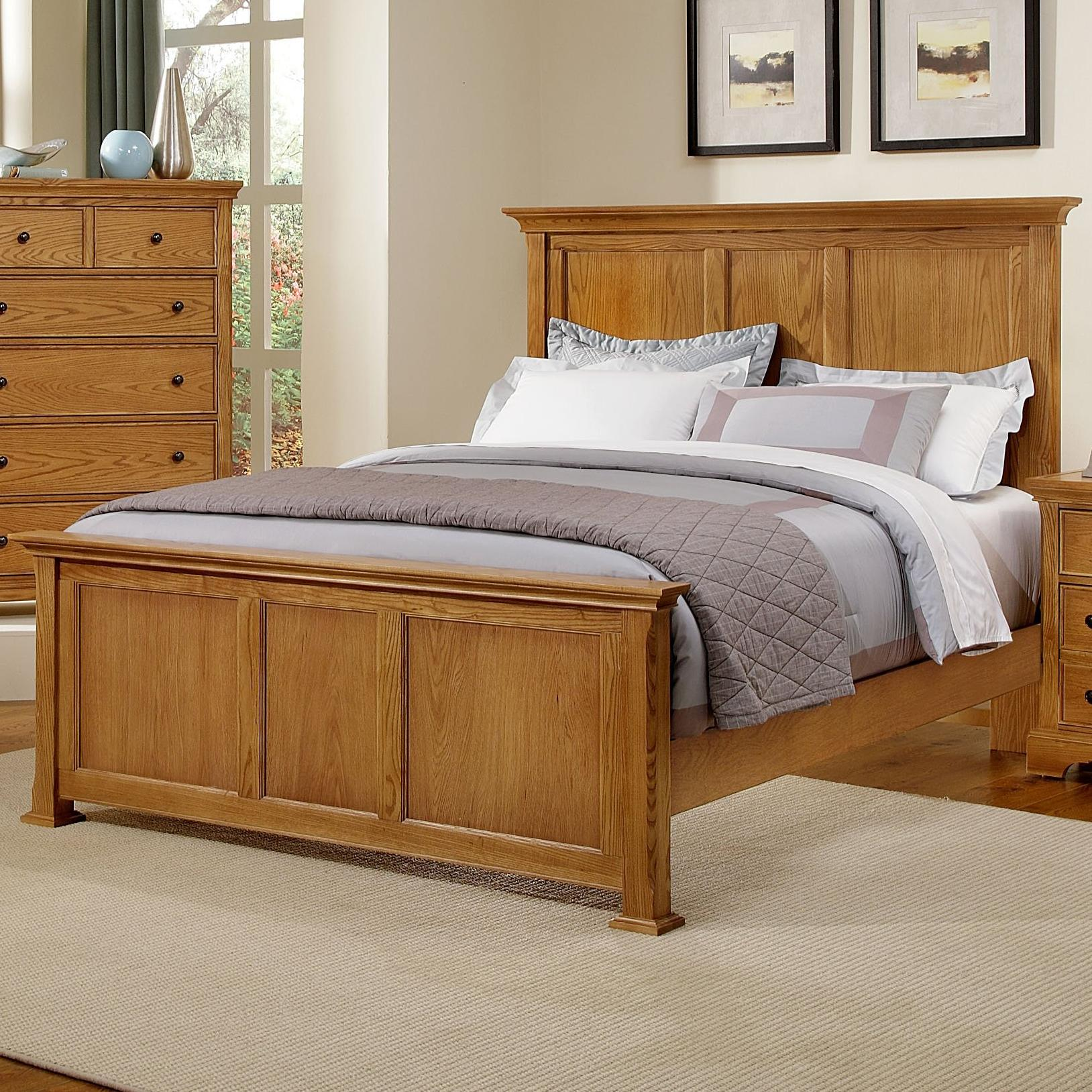 Vaughan Bassett Forsyth King Panel Bed - Item Number: BB75-668+866+922