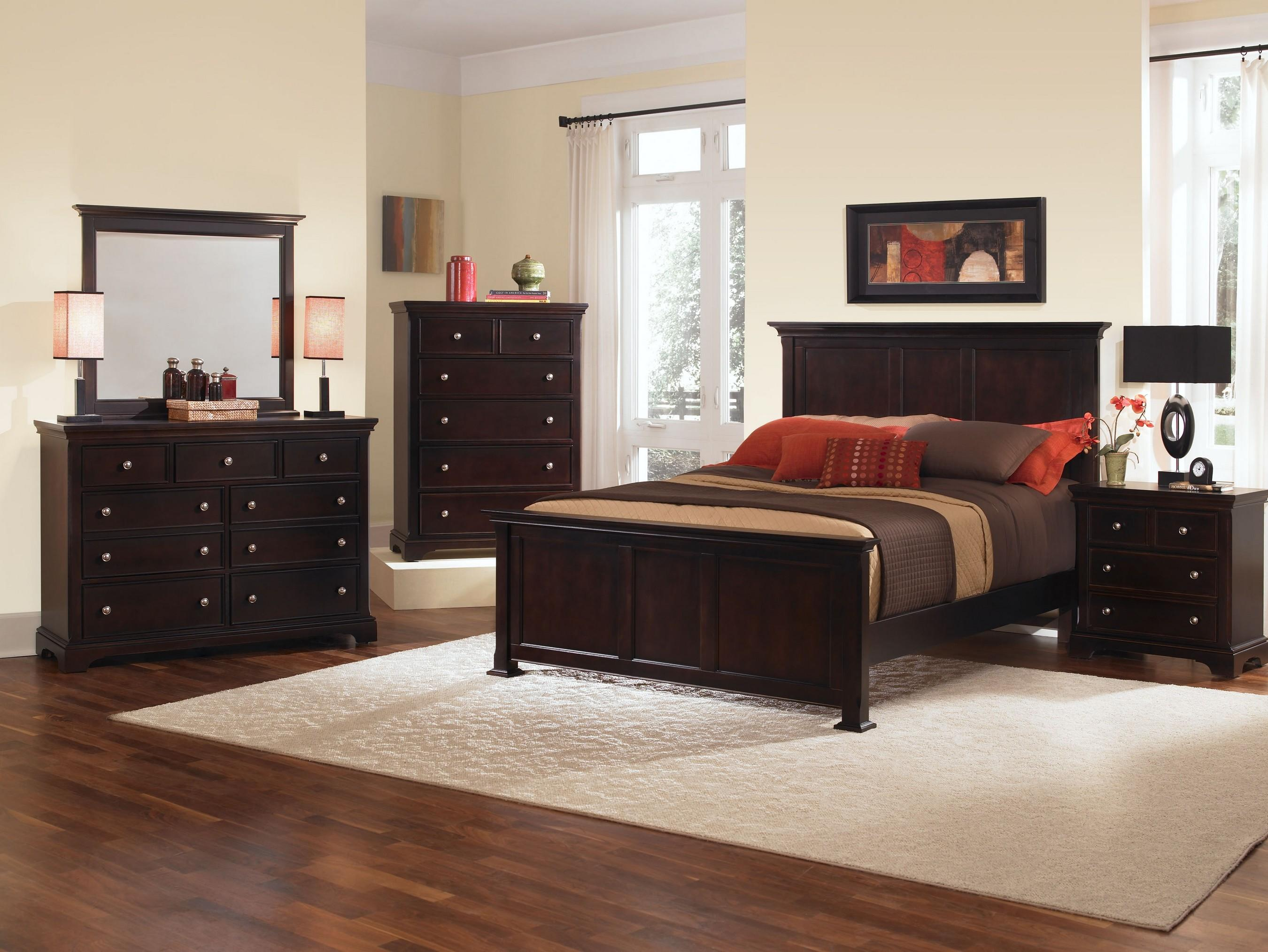 Vaughan Bassett Forsyth Queen Bedroom Group - Item Number: BB76 Q Bedroom Group 1